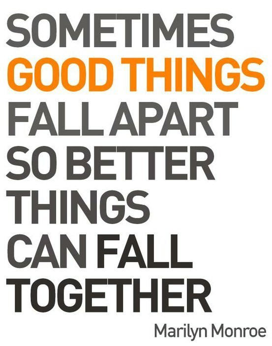 Sometimes Things Fall Apart Quotes. QuotesGram